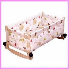 wood baby cradle crib bed newborn sleeping basket baby crib bedding toy baby bunk beds