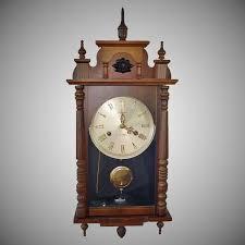 linden 31 day chiming pendulum wall clock