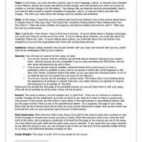 Informal Essay Examples Mistyhamel