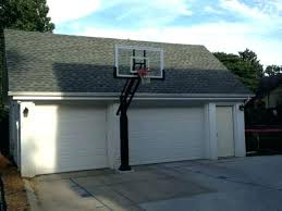 basketball hoop for garage roof customer submitted photo of first teams over l24