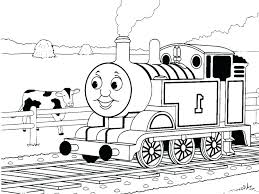 Thomas The Tank Engine Colouring Pages Free Train Coloring Fee Moonoon
