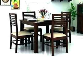 4 chair dining table size full of kitchen for set plastic in below round rug