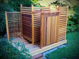 outdoor shower. Outdoor Shower Designs Cedar N