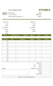 Free Excel Quote Template Best Invoice Resume Templates Word