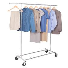 commercial chrome garment rack image