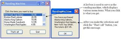 Vending Machine Programming Code Gorgeous Visual Basic 48 Programming Business Applications With A Design
