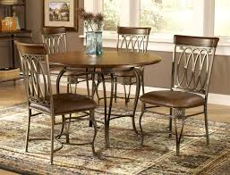 Metal Table For Kitchen Metal Dining Chairs Wood Table