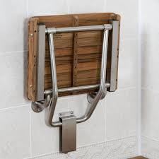 com teak ada wall mounted shower bench seat 18 x16 home improvement