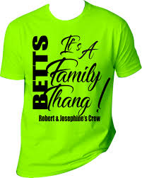 T Shirt Layout Design For Family Reunion Family Reunion T Shirts Photo T Shirts