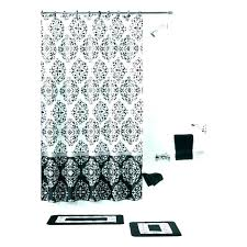 damask shower curtain black and white damask shower curtain curtains purple gold blackout s red and black damask shower curtain