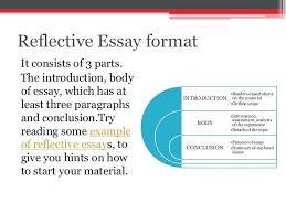 Reflective Essay Format Fascinating Reflective Essay Format Example Colbroco