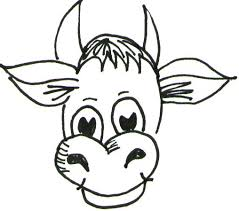 508x449 the 25 best cartoon cow ideas cow drawing learn