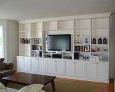 Bookcases Entertainment Center Living Room Design Design, Pictures,  Remodel, Decor And Ideas