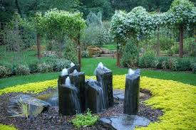 rock fountains for garden magnificent outdoor rock water fountains decorating ideas images in landscape rustic design rock fountains for garden