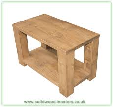rustic pine coffee table large