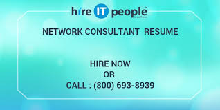 Network Consultant Resume Hire It People We Get It Done