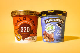 halo top ben and jerrys ice cream 8663