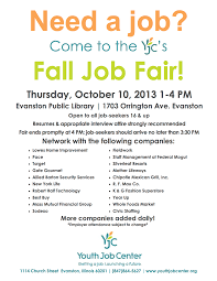 jobs evanston families the event will take place at the evanston public library 1703 orrington evanston from 1 00 4 00 pm the job fair is open to anyone 16 years and older