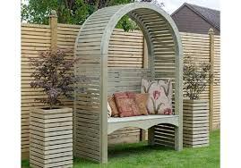 grange fencing contemporary garden