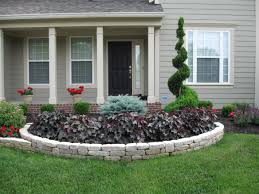 Front Yard Flower Bed Ideas The Best Flowers Attractive Landscape Edging  Outdoor Garden Landscaping Image
