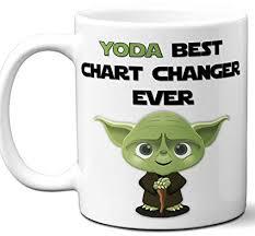 Coffee Beverage Chart Amazon Com Funny Gift For Chart Changer Yoda Best Employee