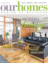Modern Furniture Kitchener Waterloo Modernist House In Kitchener Goes Upside Down Our Homes Magazine