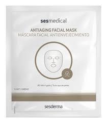<b>Тканевая маска</b> для лица <b>против морщин</b> Sesmedical Mascara ...
