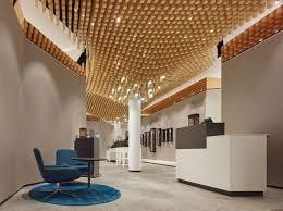 Unconventional Office Design Aesthetic False Ceiling Ideas Gracing Beautiful Decor Of