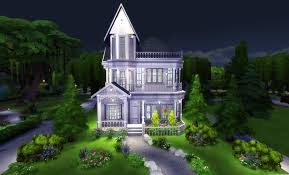 Small Picture The Sims 4 Build Tutorial Victorian House with Interior Sims