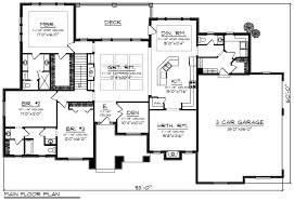 house plans 3 bedroom 2 5 bath ranch ranch style house plan 3 beds 2 50