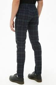 Plaid Flannel Skinny Pants Mens Plaid Pants Mens Plaid