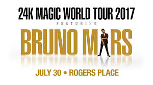 Bruno Mars Fargodome Seating Chart Bruno Mars July 30 31 2017 Rogers Place