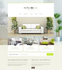 Apartment Website Design Property