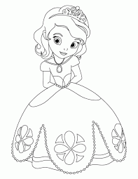 Small Picture Princess Sofia the First Coloring Sheet If its a girl