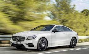 Unlike the previous generation, this generation coupe/convertible share the same platform as the sedan/wagon. 2018 Mercedes Benz E Class Coupe Revealed 8211 News 8211 Car And Driver