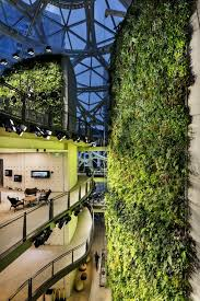 google office in seattle. In Order To Maintain An Extravagant Greenhouse That Doubles As Office Building, Temperatures Are Kept Moderately Warm At 72 Degrees During The Day With Google Seattle 0