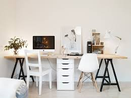 ikea office idea. i want to make this desk for our home office seeing as iu0027ll be ikea idea