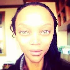 tyra banks on twitter make up no fake hair heck no fierce smize yes mysteryofthesmize t co qu2e1fvn
