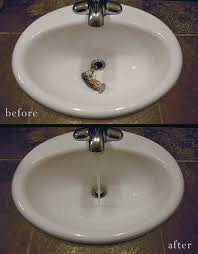 how to un clog your bathroom sink
