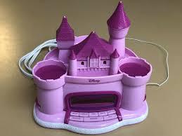 Disney Princess Magical Light Up Alarm Clock Disney Princess Storytelling Projection Pink Castle Radio Am Fm Alarm Clock