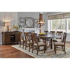 Designers Overstock Ozark Mo Simply Solid Animas Solid Wood 9 Piece Dining Collection