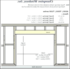 Bifold Door Rough Opening Doors Rough Open Mastercraft