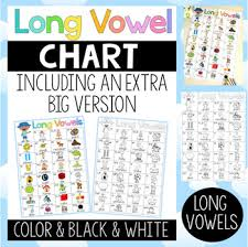 Long Vowel Chart