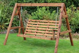 solid wooden garden swing wooden garden swing bench awesome garden centre