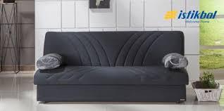 max naturale black convertible sofa bed