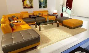 reviva leather sectional sofa modern contemporary