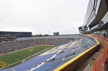 Michigan Stadium Club Level Seating Chart A Look Inside The Renovated Michigan Stadium The Michigan