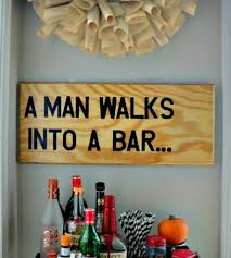 bar wall artwork