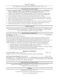 Resume Templates Nursing Inspiration Nurses Resume Templates Nursing Resume Templates Graduate Nurse