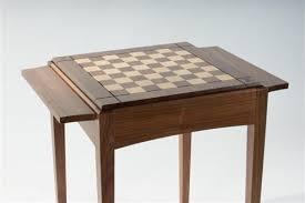 walnut player s chess table usa